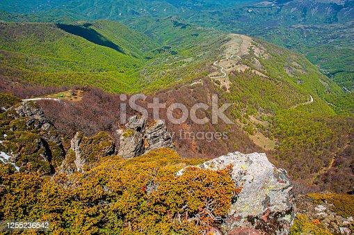 Babin zub - Stara planina, Serbia. Babin zub is a peak in the Stara Planina mountain massif in the south-eastern Serbia