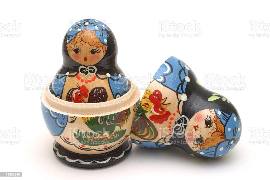 Babushka Dolls stock photo