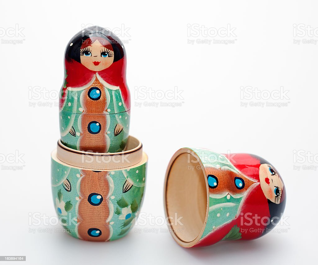 Babushka Dolls.. royalty-free stock photo