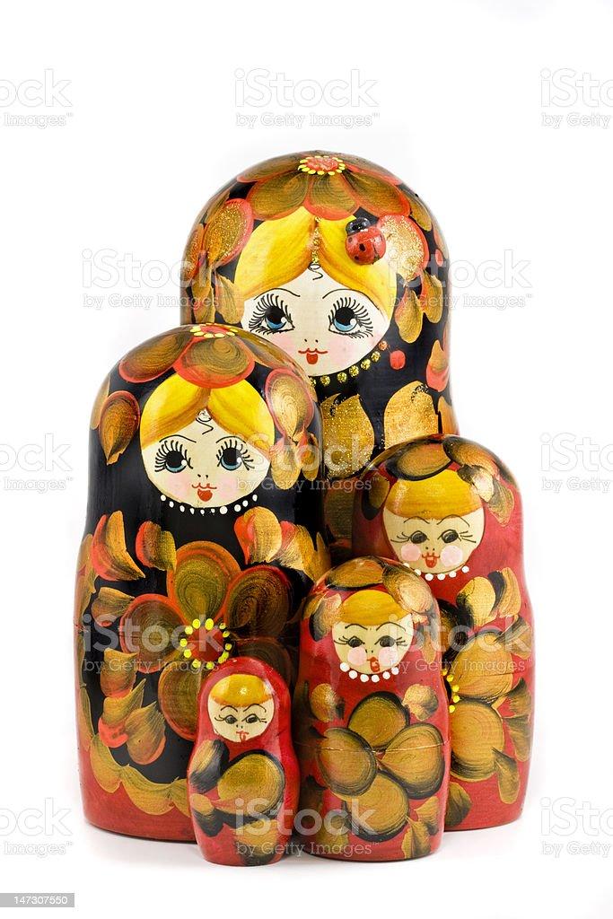 Babushka royalty-free stock photo