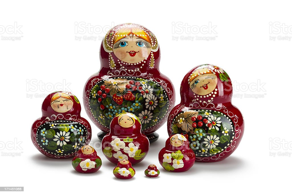 Babushka stock photo