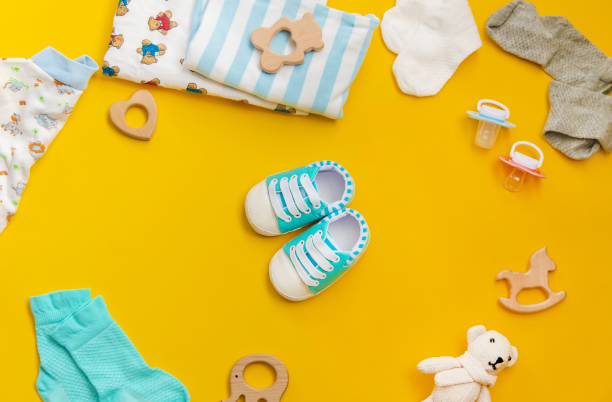 Baby accessories for newborns on a colored background selective focus picture id1147275952?b=1&k=6&m=1147275952&s=612x612&w=0&h=ssej xbqo ed m8zgcup2vs7gwb4vqur0nan  qu3n0=