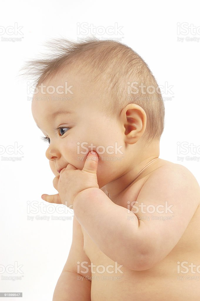 baby after bath  #21 royalty-free stock photo
