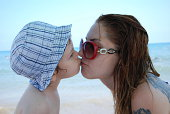istock Baby and Mother in Beach 470002547