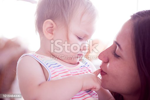 909771884 istock photo Baby And Mother 1015464330