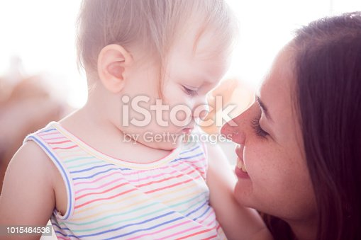 909771884 istock photo Baby And Mother 1015464536