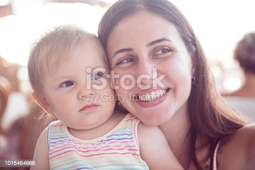 909771884 istock photo Baby And Mother 1015464668