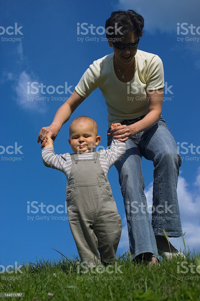Baby and Mother royalty-free stock photo