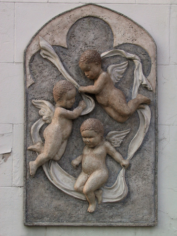 istock Baby angels flying in Buenos Aires 94344063