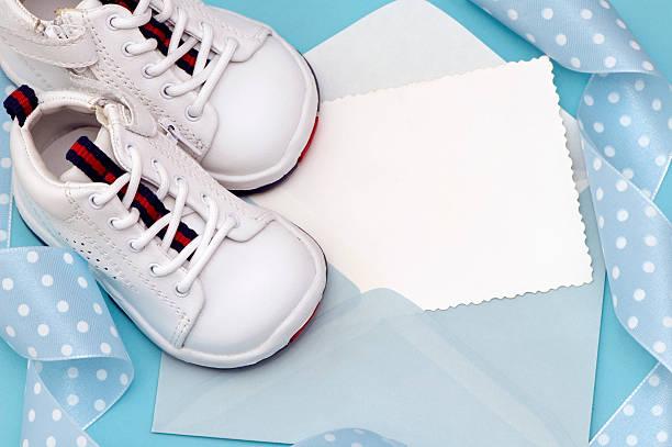 Baby  Announcement stock photo