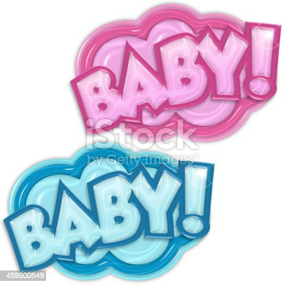 istock baby arrival badges 459900549