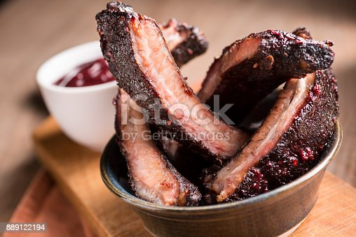 Baby Back Ribs with Barbecue Sauce