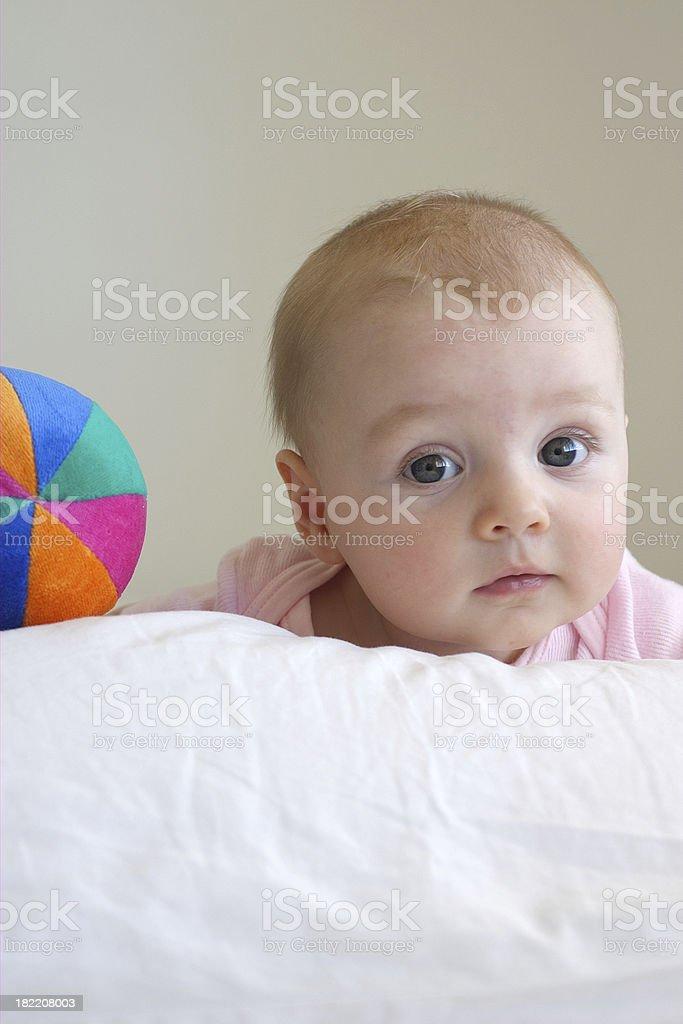 baby ball stock photo