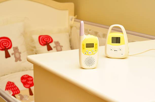 Baby Bedroom Monitor stock photo