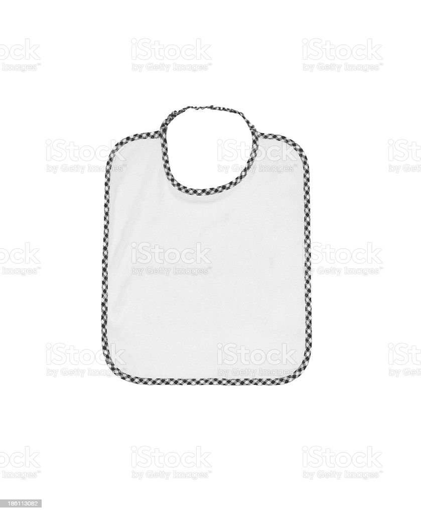 baby bib stock photo
