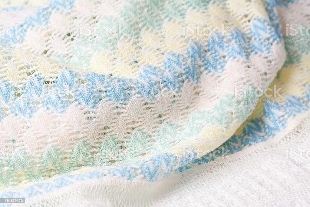 Baby Blanket stock photo