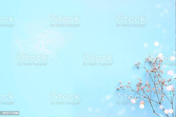 Baby blue background with small white flowers and bokeh with copy picture id925712496?b=1&k=6&m=925712496&s=612x612&h=uotga us6rl0eskpvnfyxiex2uo7pmmclohdlqglqxs=