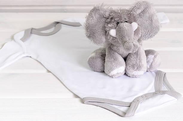 Baby bodysuit and soft toy on white wooden background picture id628462362?b=1&k=6&m=628462362&s=612x612&w=0&h=dzckjrzednr qgtdutsgfhvfgbg5vkq zsqjocrv3bc=