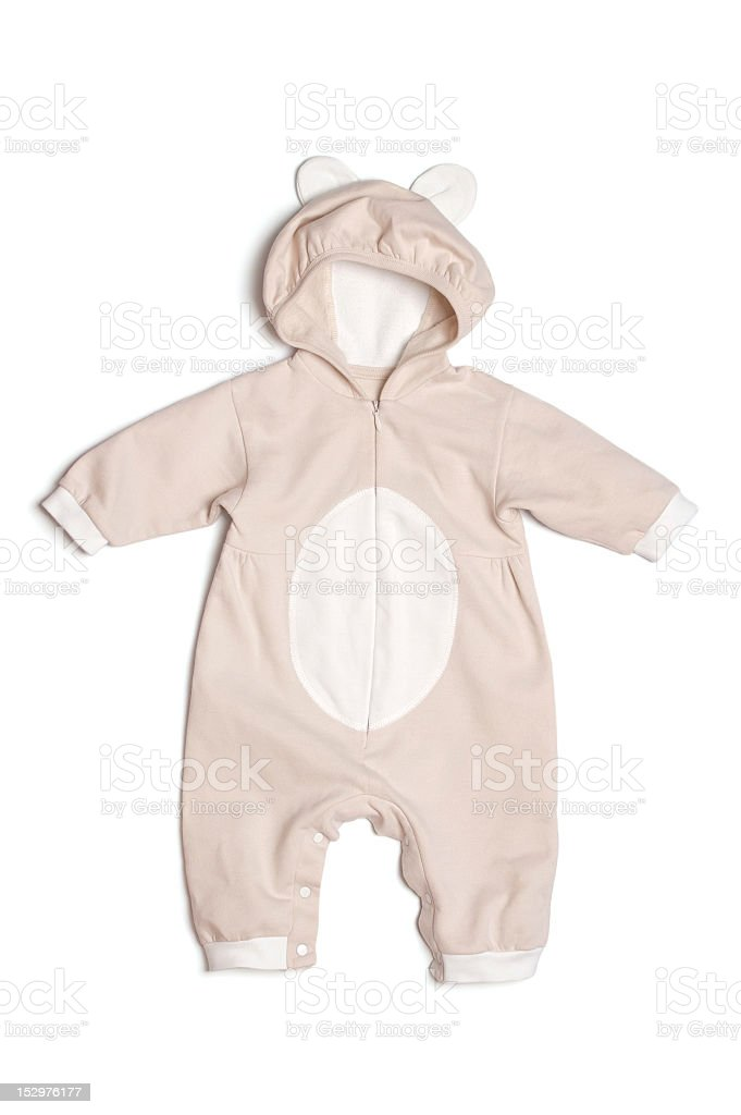 Baby bodysuit stock photo