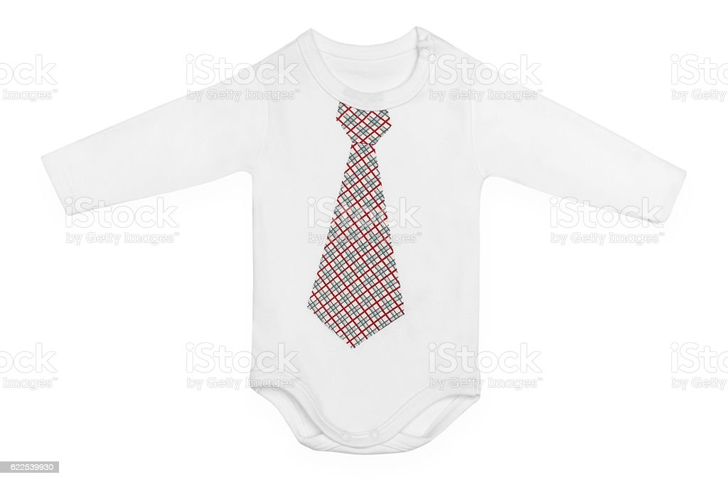68cc73b8e Baby Bodysuit With Pattern Isolated On White Stock Photo & More ...