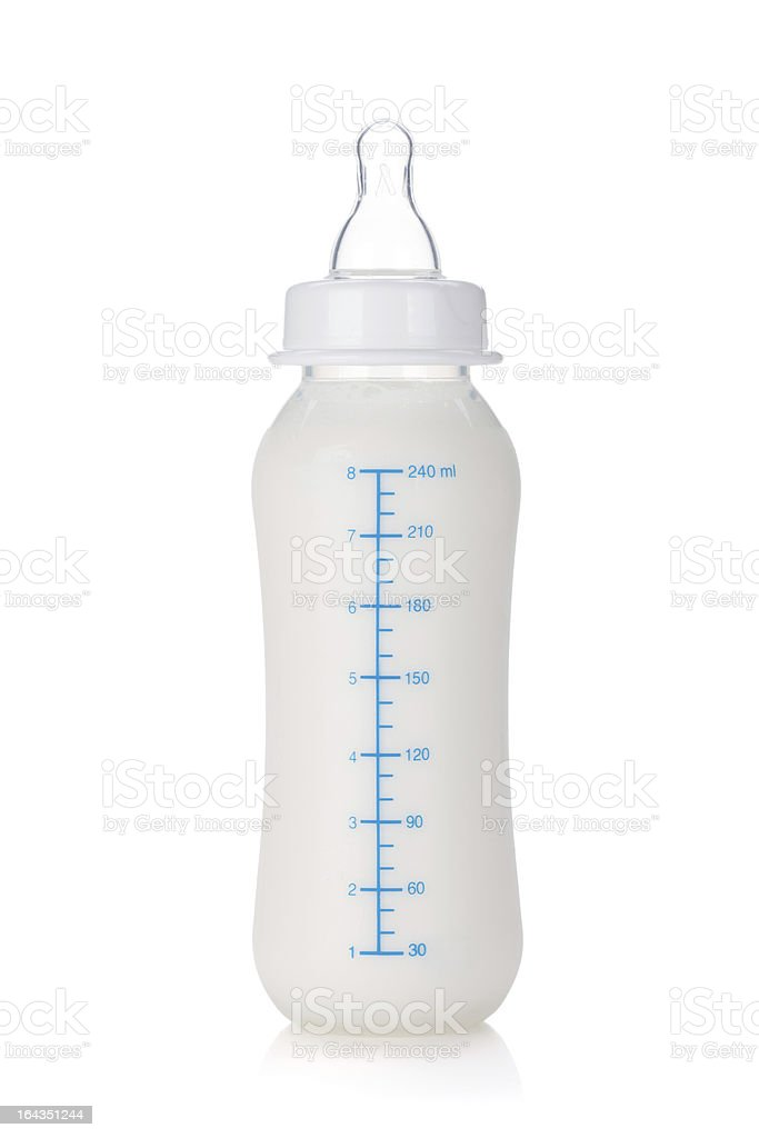 Baby Bottle stock photo