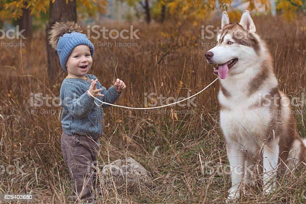 Baby boy in forest with husky dog picture id629403680?b=1&k=6&m=629403680&s=612x612&h=espbts7ubiurnhqdn7qg7ws9pt0zknsxpnperduf0bm=