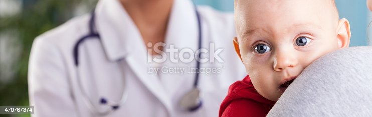 istock Baby boy in mom's arms 470767374