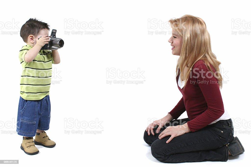 Baby Boy  Photographer royalty-free stock photo