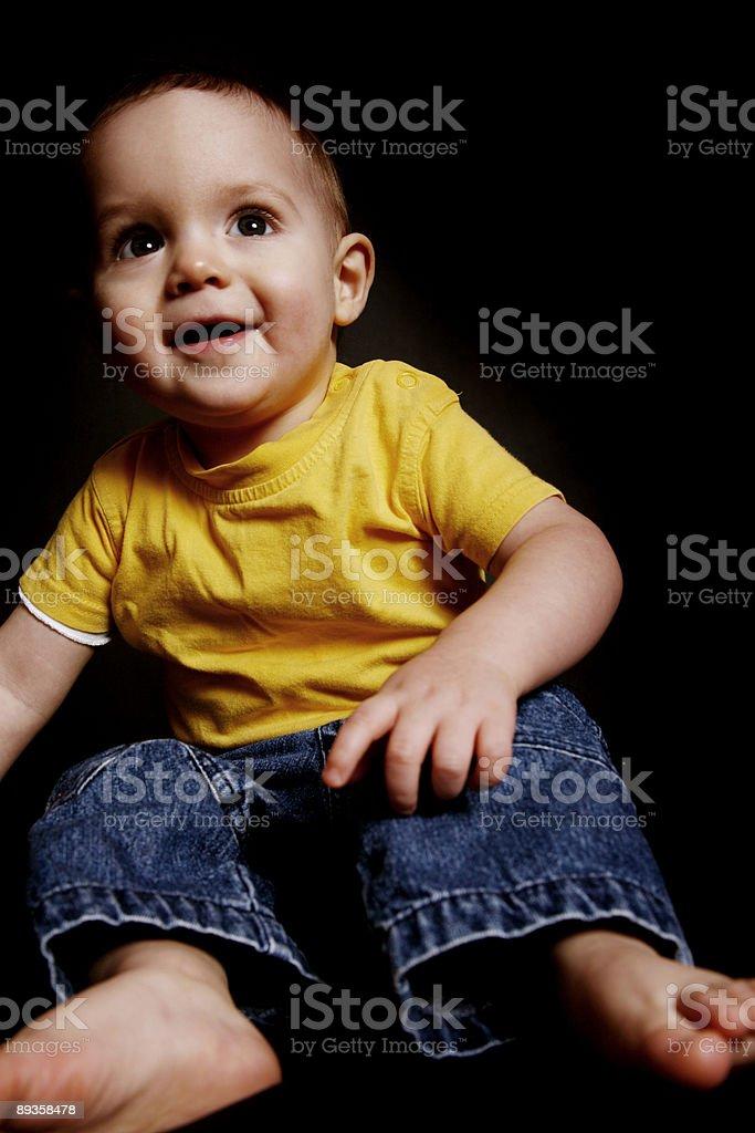 Neonato bambino foto stock royalty-free