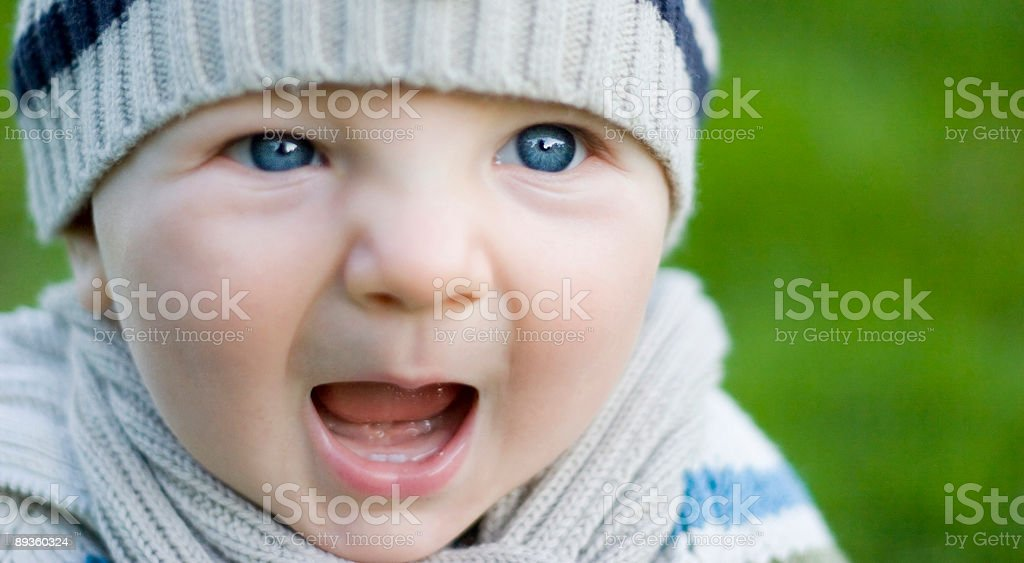 Baby chłopiec zbiór zdjęć royalty-free
