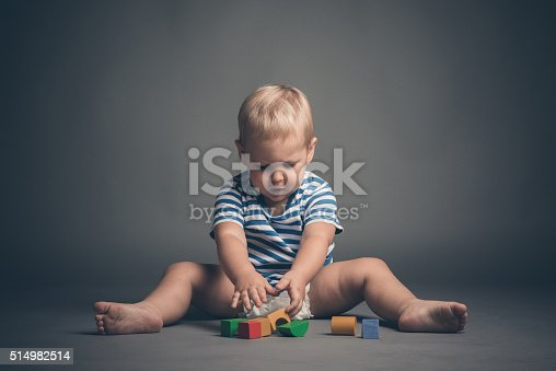 873187696 istock photo Baby boy playing 514982514