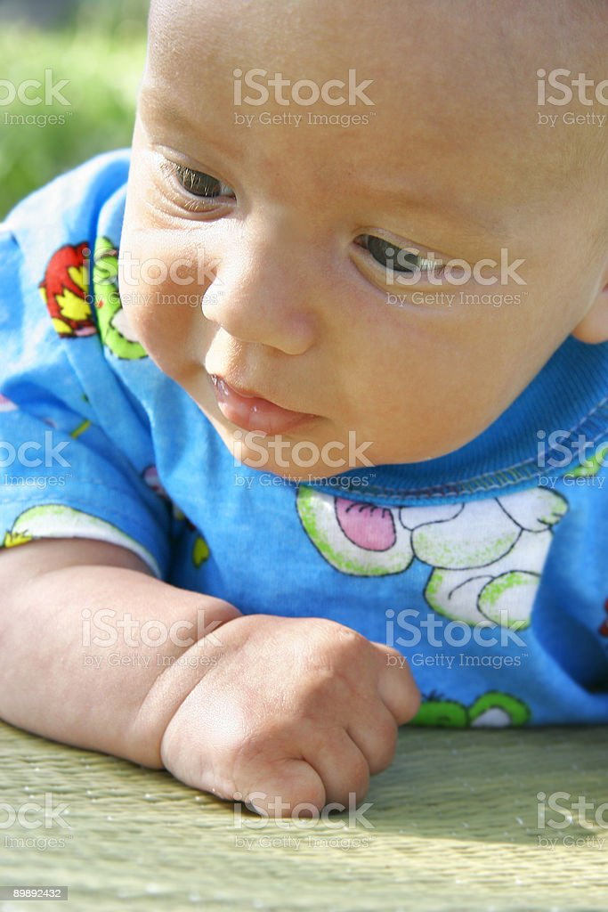 baby boy portrait royalty-free stock photo