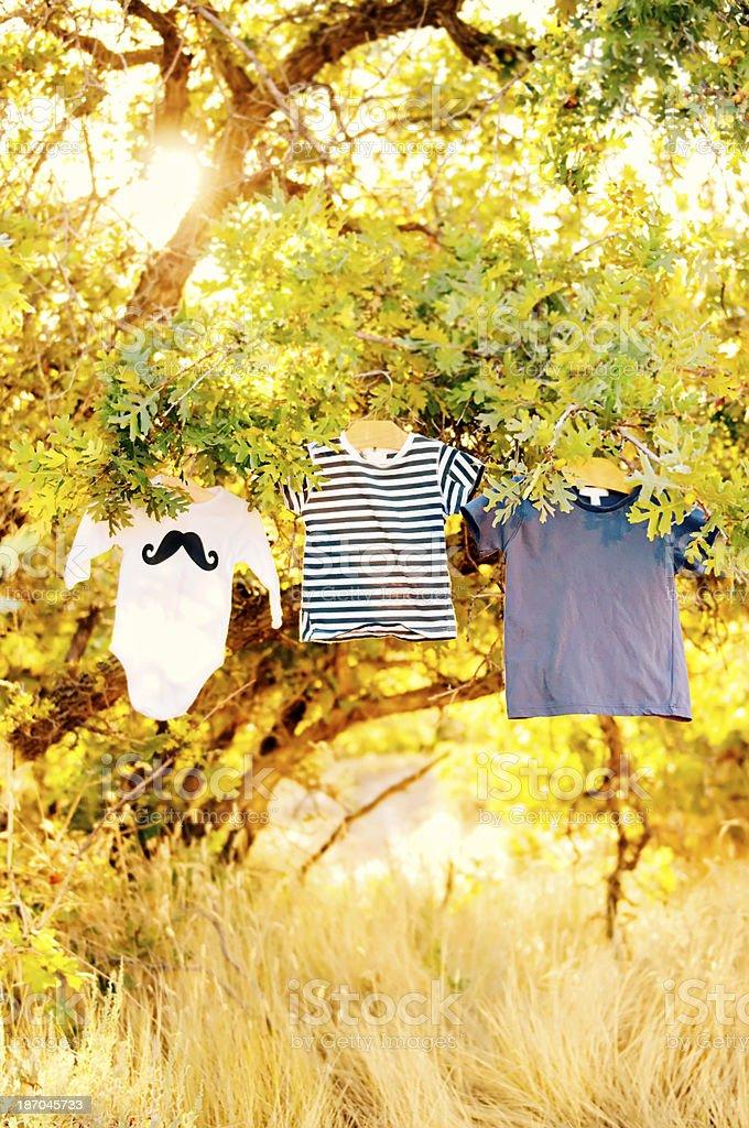 Baby Boy Shirts royalty-free stock photo