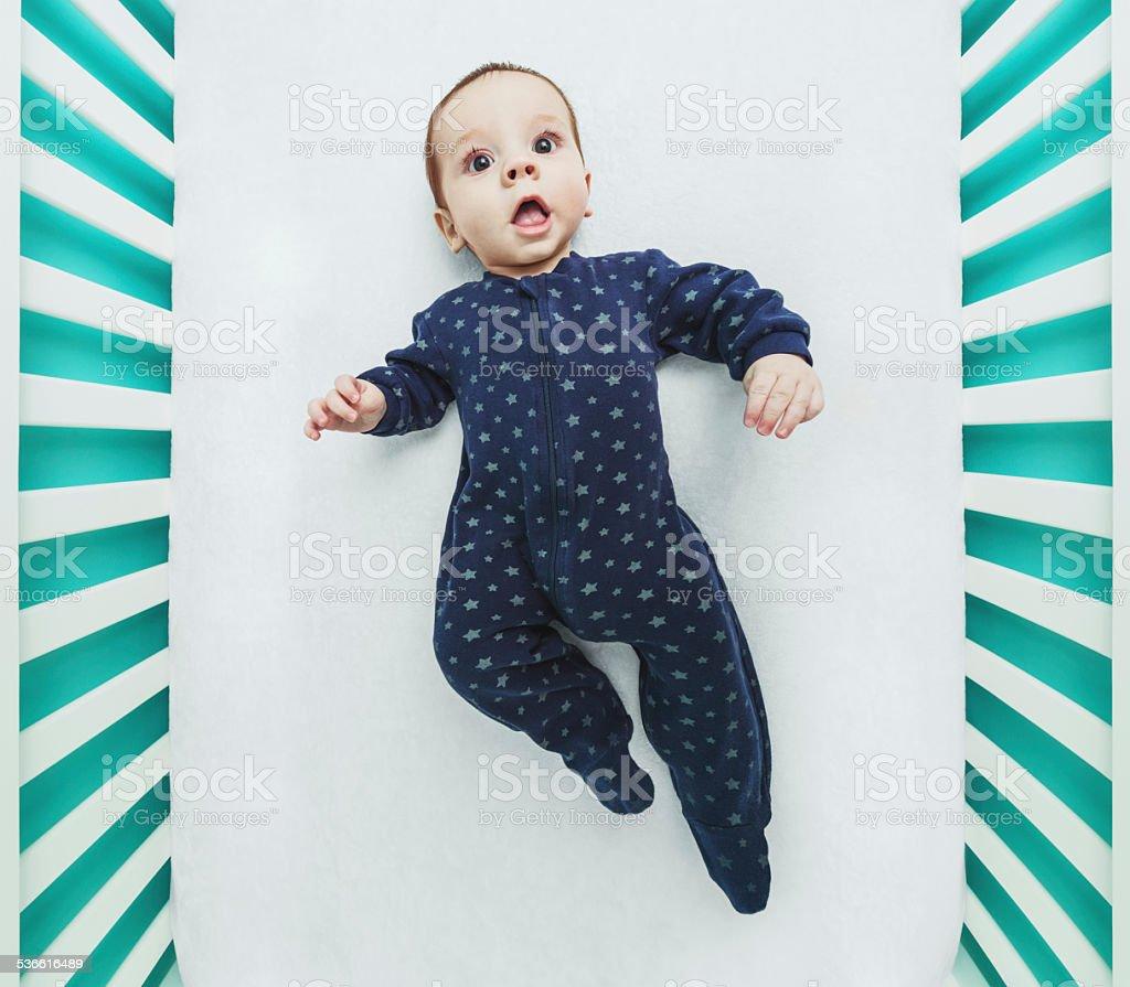 Baby Boy Symmetry stock photo