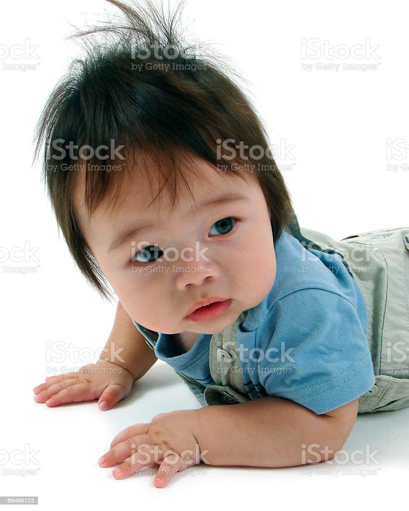 baby boy two royaltyfri bildbanksbilder
