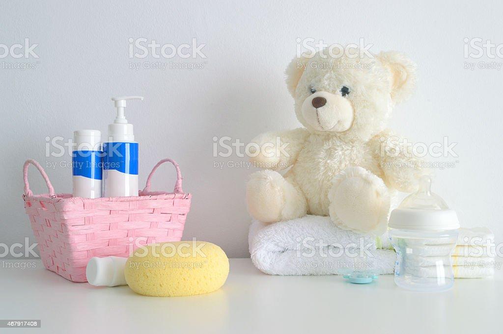 Baby care and bath stuff foto