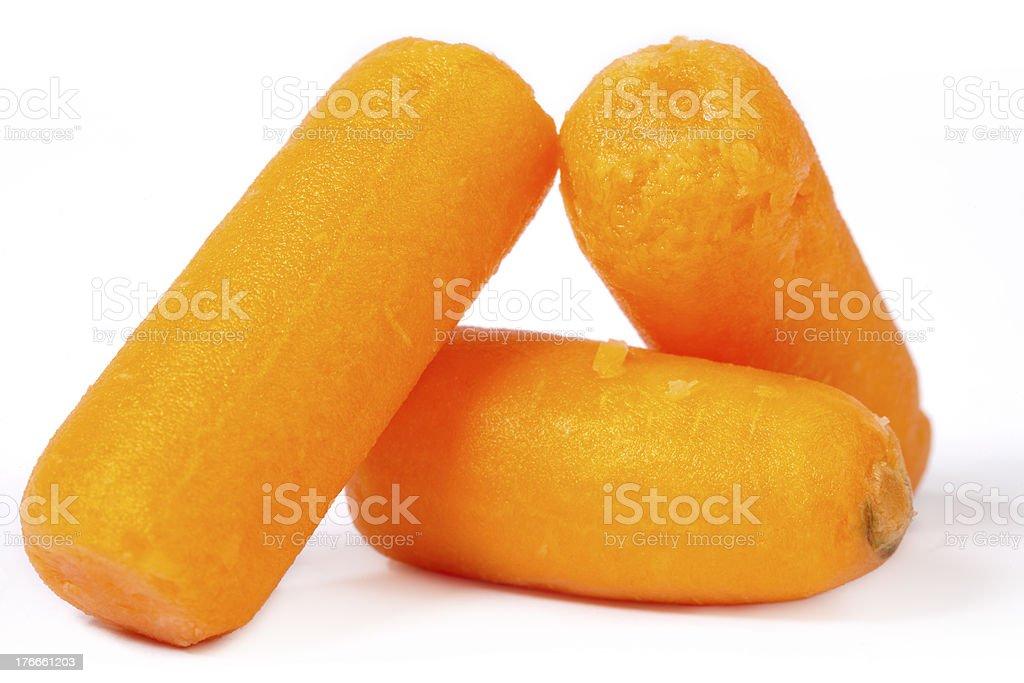 Baby Carrots foto de stock libre de derechos