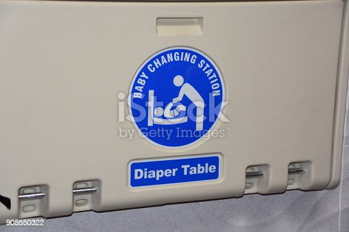 Public Baby changing table