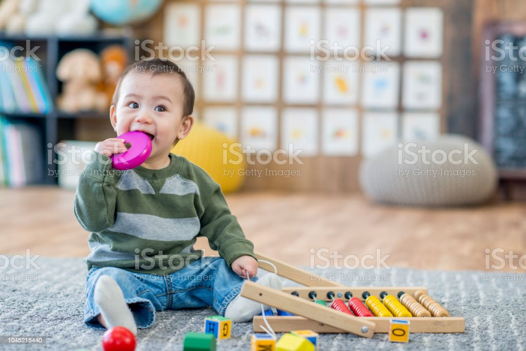 Baby Chewing Toy stock photo