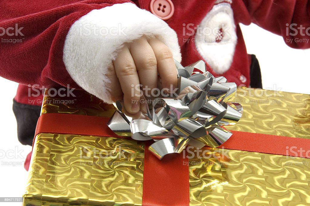 Baby Claus royalty-free stock photo