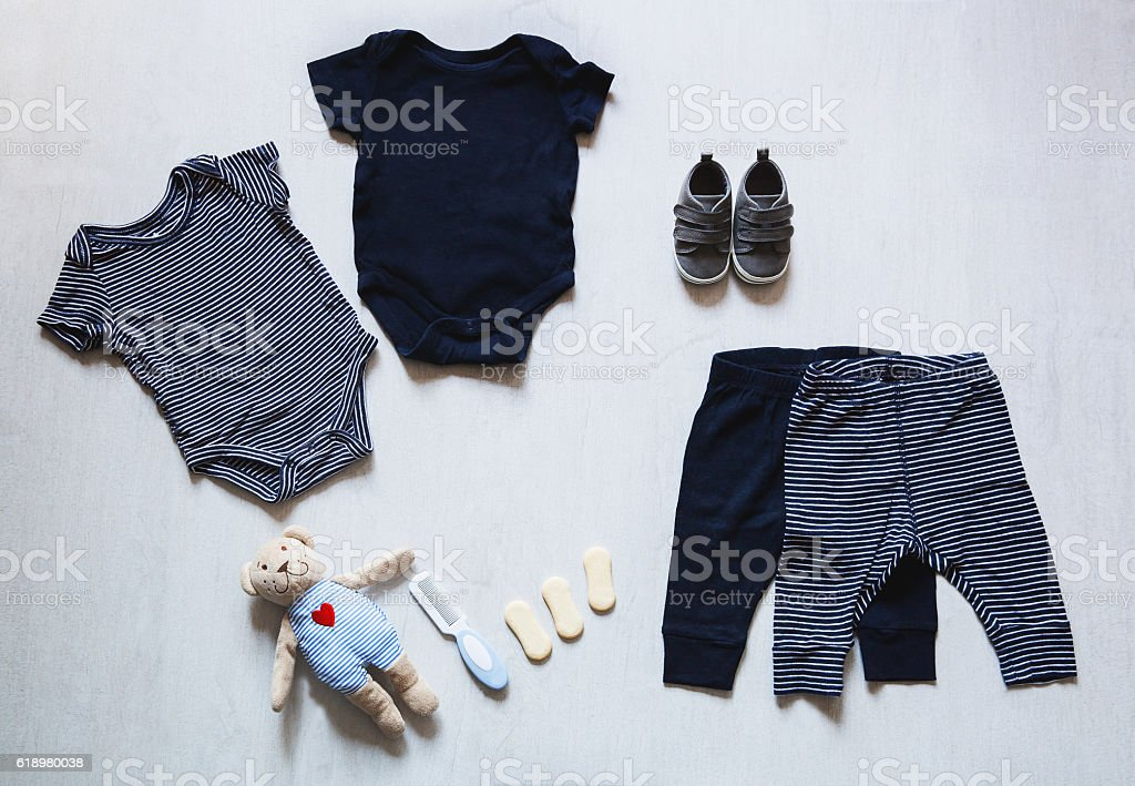 Baby Clothes Concept Of Child Fashion Stock Photo More Pictures Of