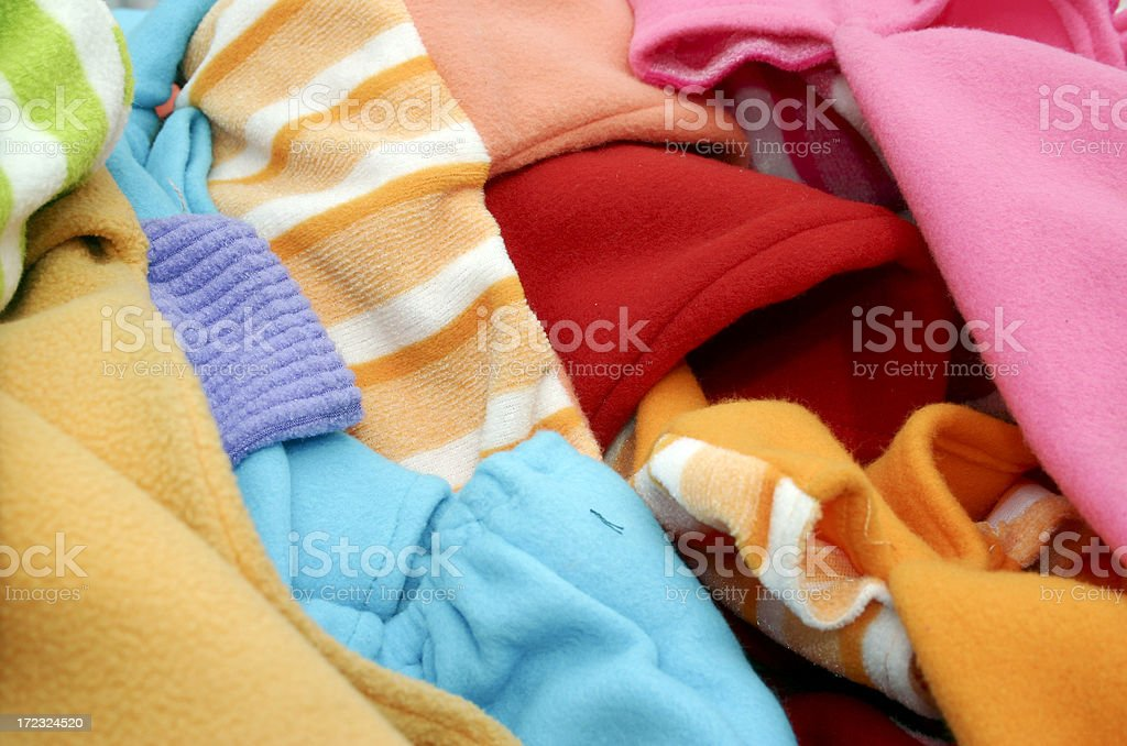 Baby clothes royalty-free stock photo