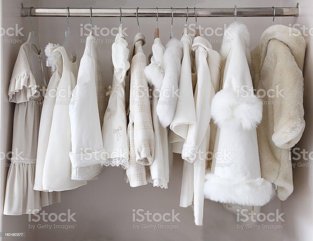 Kleidung für Babys Lizenzfreies stock-foto