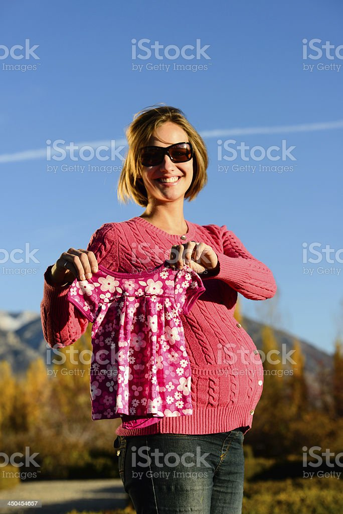 Baby Clothes - Vertical royalty-free stock photo