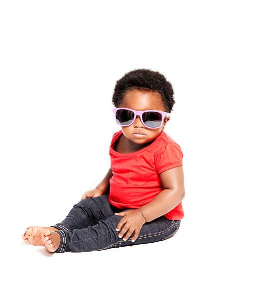 baby cool - sonnenbrille kleinkind stock-fotos und bilder