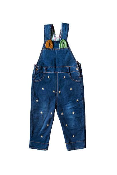 baby-strampler - jeans overall stock-fotos und bilder