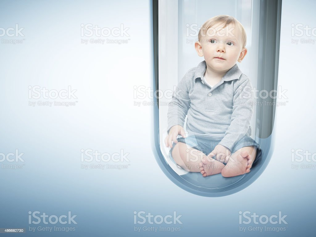 baby creation stock photo