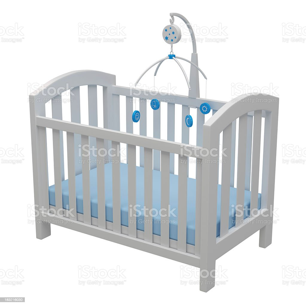 Baby Crib stock photo