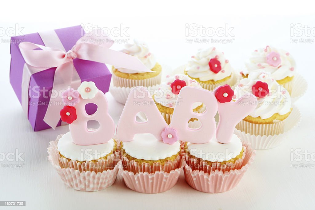 baby cupcakes royalty-free stock photo