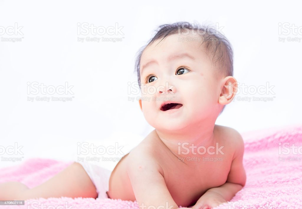 baby cute stock photo